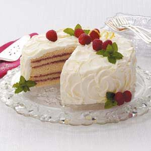 Makeover Lemon Raspberry Cake