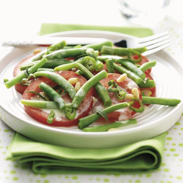 Savory Bean & Tomato Salad