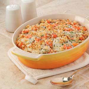 Kohlrabi 'n' Carrot Bake