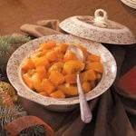 Cashew-Peach Sweet Potatoes