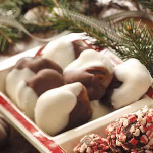 Chocolate-Covered Praline Chews