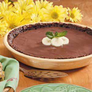 Banana Chocolate Coconut Pie