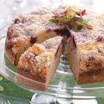 Crumb-Topped Cranberry Cake