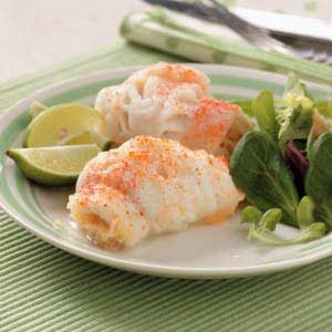 Shrimp-Stuffed Sole