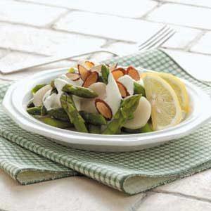 Asparagus with Lemon Sauce