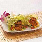 Grilled Shrimp Lettuce Wraps