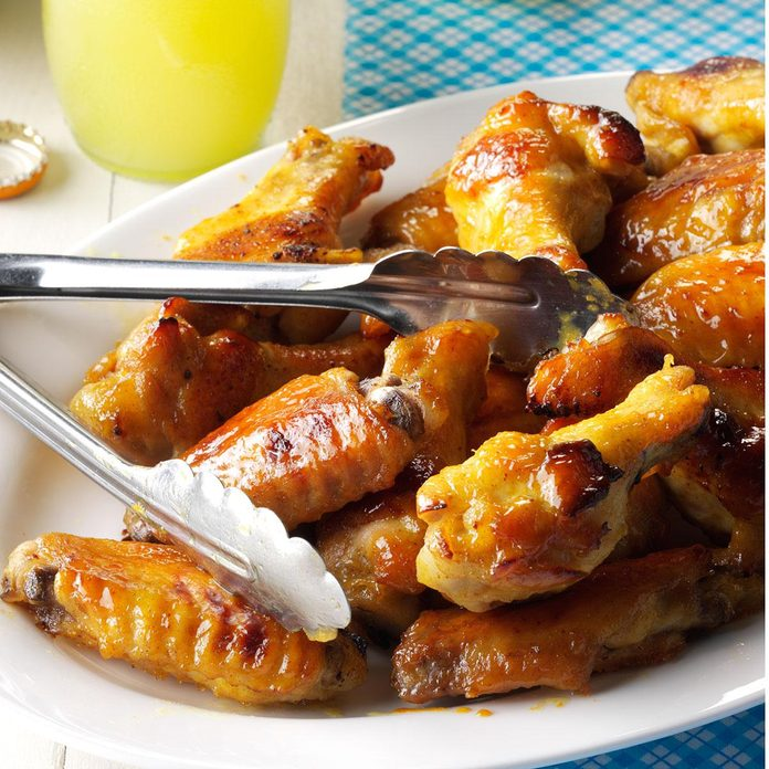 Inspired by: Buffalo Wild Wings Bourbon Honey Mustard Wings