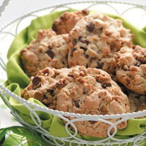 Pecan Double-Chip Cookies