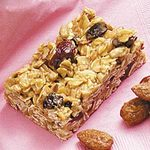 Sunflower-Cherry Granola Bars