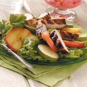 Grilled Chicken Cucumber Salad