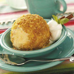Cornflake Fried Ice Cream