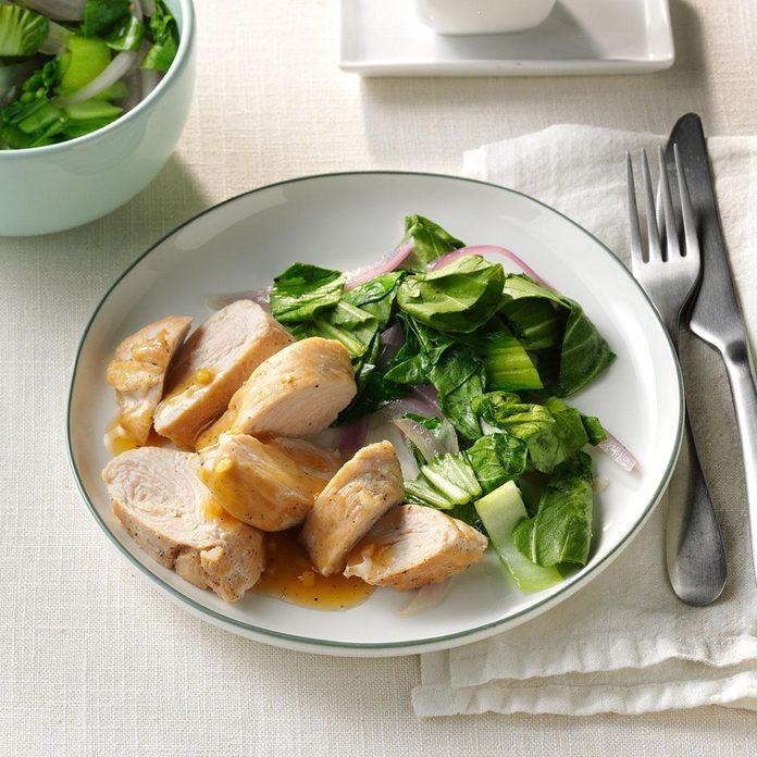 Day 14: Garlic-Ginger Turkey Tenderloins