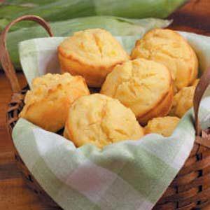 Sunny Corn Bread Muffins