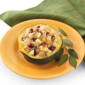 Couscous-Stuffed Acorn Squash
