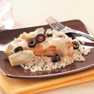 Makeover Creamy Chicken 'n' Artichokes