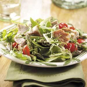 Tuna Steak Salad