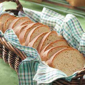 Golden Caraway Rye Bread