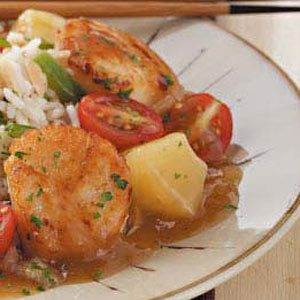 Sweet-and-Sour Scallops