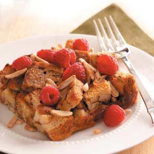 Raspberry-Cinnamon French Toast