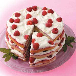 Raspberry Orange Torte