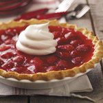 Strawberry Custard Pies