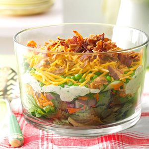 Layered Salad for a Crowd