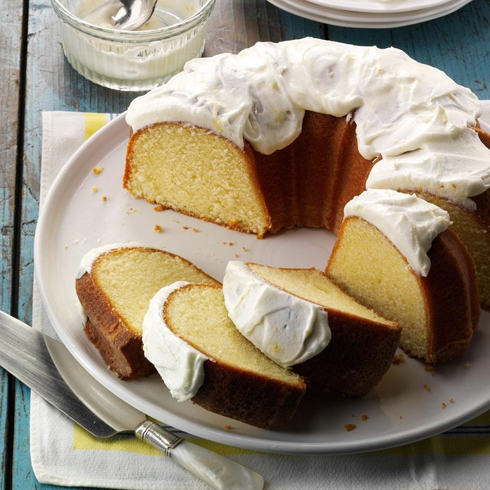 Inspired by: Starbucks' Lemon Pound Cake