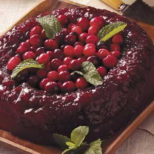Applesauce-Berry Gelatin Mold