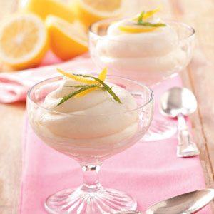 Lemon Velvet Dessert
