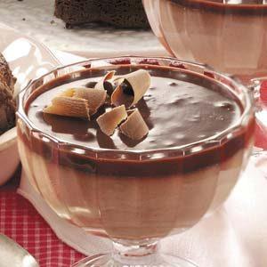 Cinnamon Chocolate Mousse