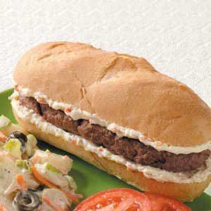 Hamburger Hoagies