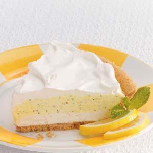 Poppy Seed Lemon Pie