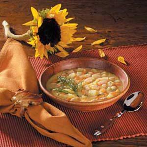 Potato Soup With Beans