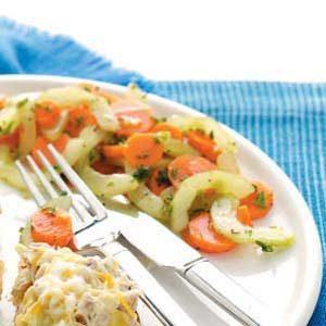 Gingered Cucumber-Carrot Salad