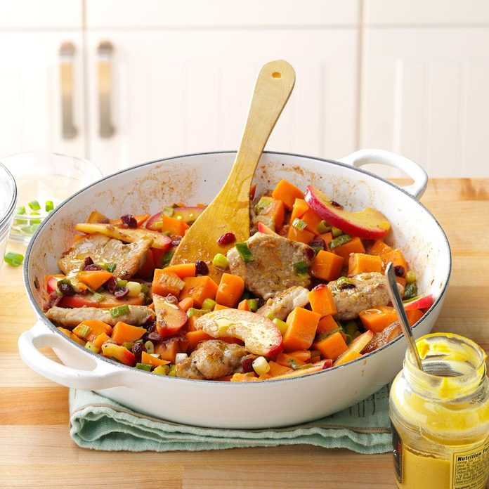 March: Pork with Sweet Potatoes