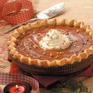 Caramel-Crunch Pumpkin Pie
