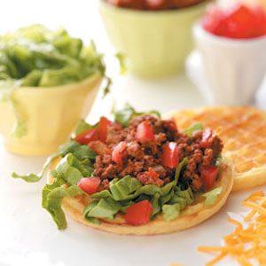 Taco Salad Waffles