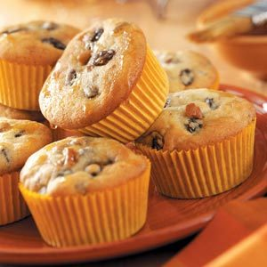 Rum Raisin Muffins