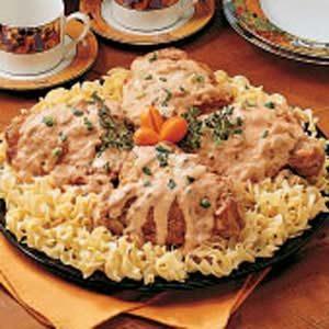 Turkey in Mushroom Sauce