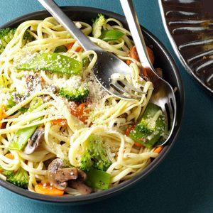 Broccoli Veggie Pasta Primavera