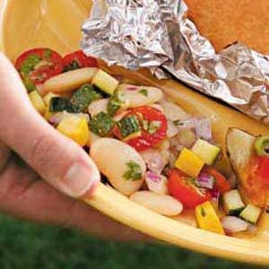 Butter Bean Tomato Salad