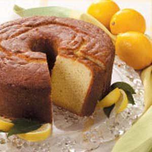 Lemon-Buttermilk Pound Cake