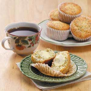 Sour Cream Poppy Seed Muffins