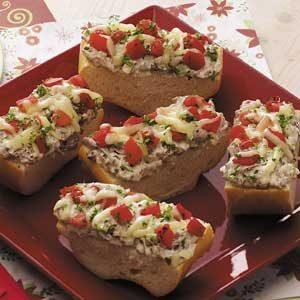 Beef 'n' Pepper Bread Slices