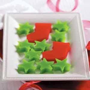 Christmas Gelatin Cutouts