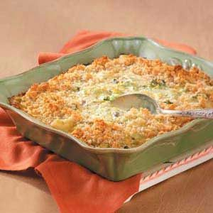 Comforting Broccoli Casserole
