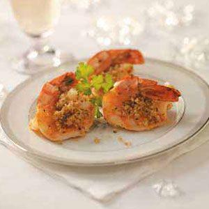 Stuffed Butterflied Shrimp