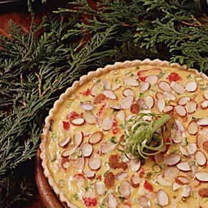 Swiss 'n' Crab Supper Pie
