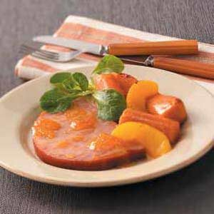Glazed Ham with Sweet Potatoes