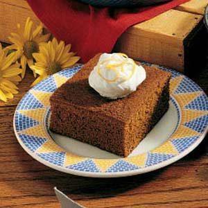 Great-Grandma's Ginger Cake